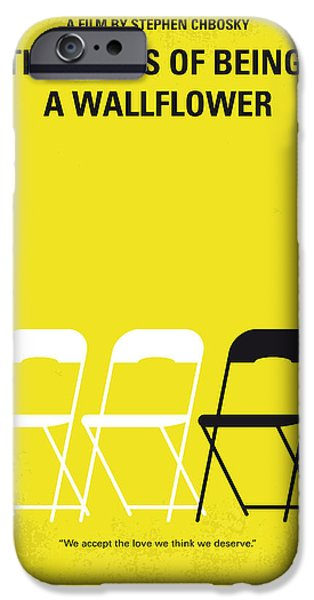 No575 My Perks Of Being A Wallflower Minimal Movie Poster IPhone Case by Chungkong Art