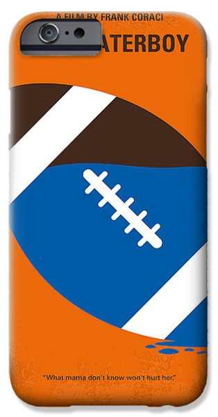 No580 My The Waterboy Minimal Movie Poster IPhone 6s Case by Chungkong Art