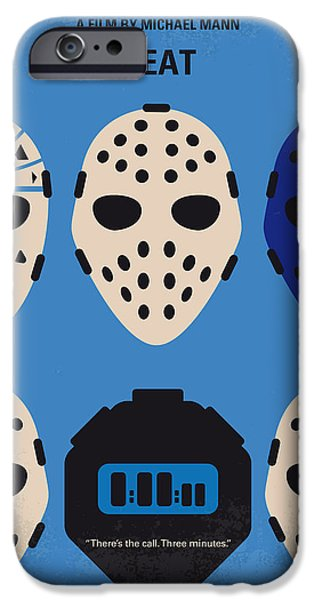 No621 My Heat Minimal Movie Poster IPhone Case by Chungkong Art
