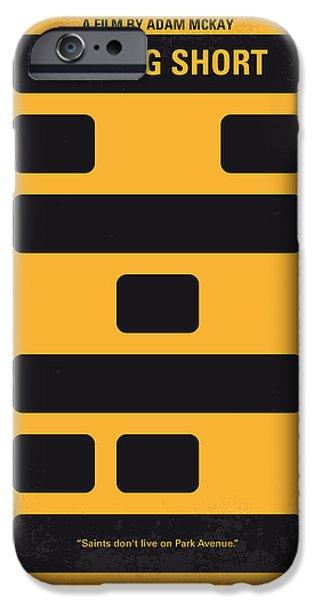 No622 My The Big Short Minimal Movie Poster IPhone Case by Chungkong Art