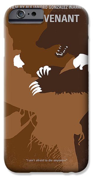 No623 My The Revenant Minimal Movie Poster IPhone Case by Chungkong Art
