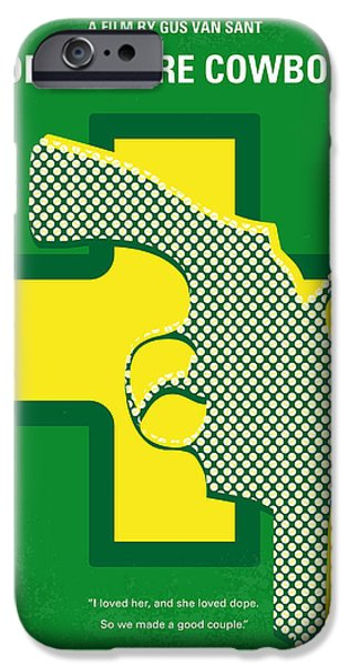 No628 My Drugstore Cowboy Minimal Movie Poster IPhone Case by Chungkong Art