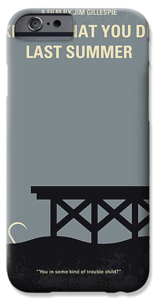 No650 My I Know What You Did Last Summer Minimal Movie Poster IPhone Case by Chungkong Art