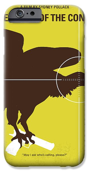 No659 My Three Days Of The Condor Minimal Movie Poster IPhone Case by Chungkong Art