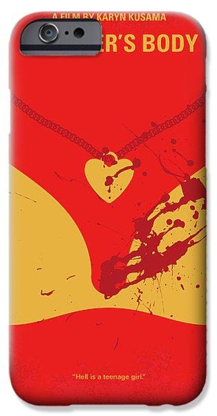 No698 My Jennifers Body Minimal Movie Poster IPhone Case by Chungkong Art