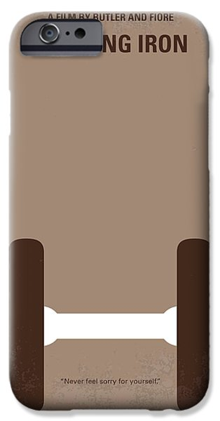 No707 My Pumping Iron Minimal Movie Poster IPhone 6s Case by Chungkong Art