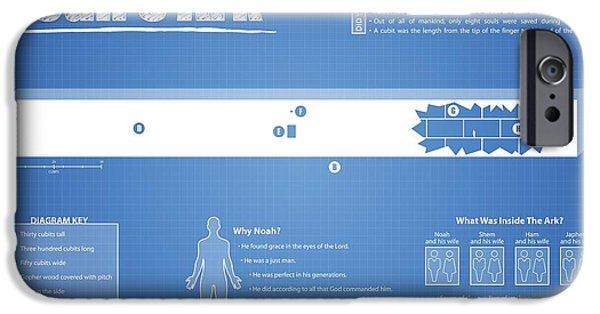 Noah's Ark Fact Sheet IPhone 6s Case by Brett Pfister