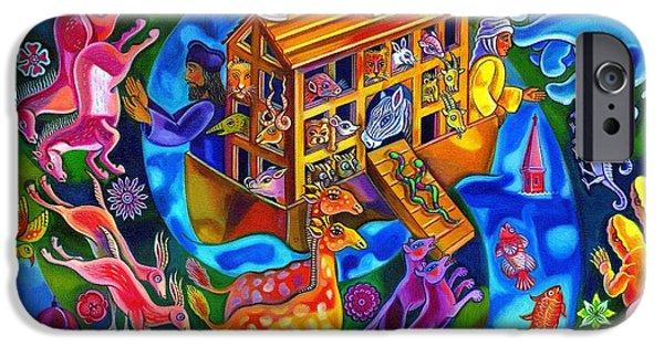 Noah's Ark IPhone Case by Jane Tattersfield