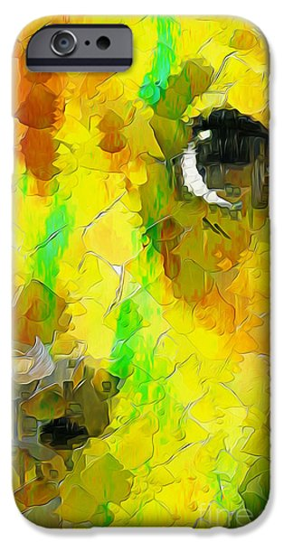 Noise And Eyes In The Colors IPhone Case by Stefano Senise