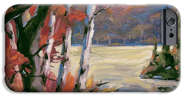 North Lake By Prankearts IPhone Case by Richard T Pranke