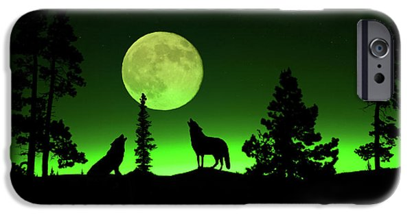 Northern Lights IPhone Case by Shane Bechler