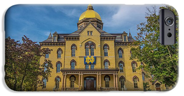 Notre Dame University Golden Dome IPhone 6s Case by David Haskett