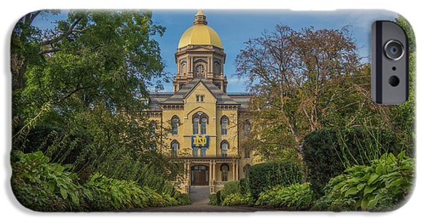 Notre Dame University Q IPhone 6s Case by David Haskett