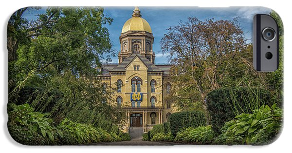 Notre Dame University Q1 IPhone 6s Case by David Haskett