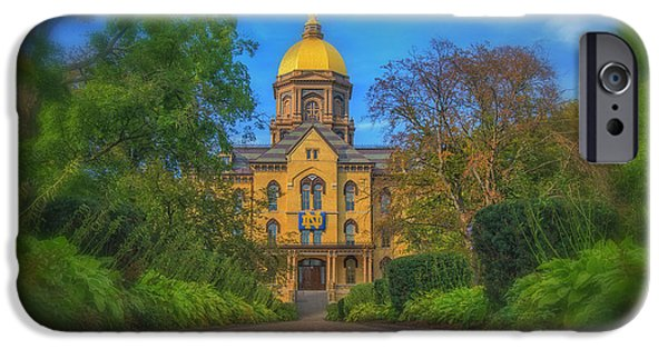 Notre Dame University Q2 IPhone 6s Case by David Haskett