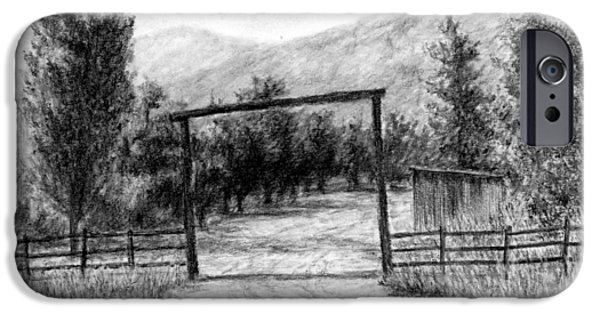 Oakley Ranch Entrance IPhone Case by David King