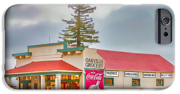 Oakville Grocery IPhone Case by Bill Gallagher