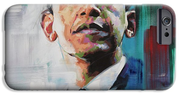 Obama IPhone Case by Richard Day