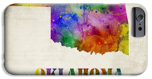 Oklahoma IPhone Case by Mihaela Pater