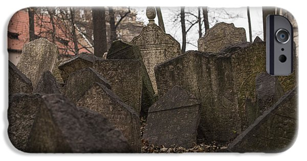 Old Jewish Cemetery In Prague IPhone Case by Juli Scalzi