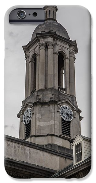 Old Main Penn State Clock  IPhone 6s Case by John McGraw