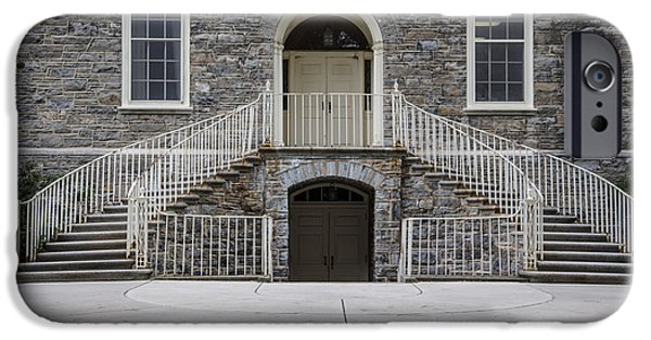 Old Main Penn State Stairs  IPhone 6s Case by John McGraw