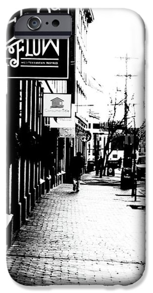Old Port Black And White IPhone Case by Victory  Designs