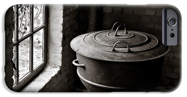 Old Stove IPhone Case by Dave Bowman