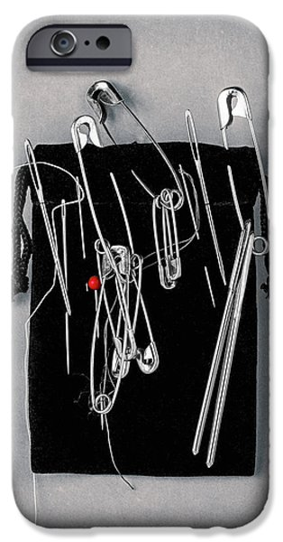 On Pins And Needles IPhone Case by Tom Mc Nemar