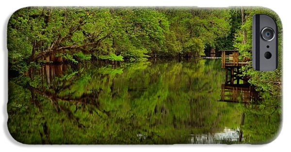 On The Way To The Suwannee River IPhone Case by Adam Jewell