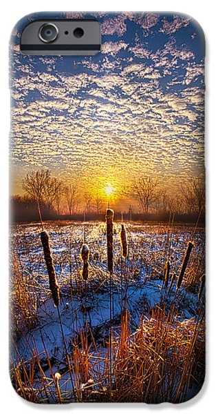 One Day At A Time IPhone Case by Phil Koch