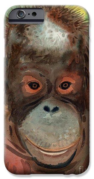 Orangutan IPhone 6s Case by Donald Maier