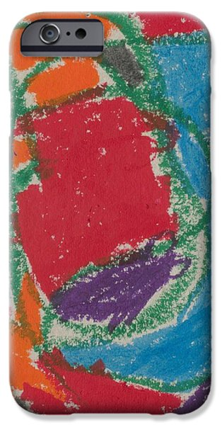 Original 014 IPhone Case by Original Paintings
