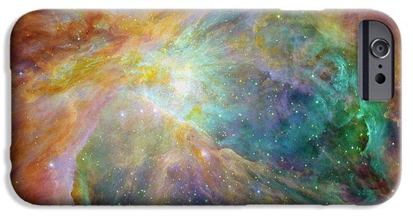 Orion Nebula IPhone Case by Mark Kiver