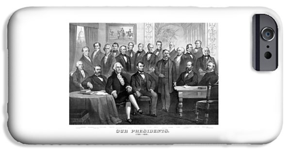 Our Presidents 1789-1881 IPhone 6s Case by War Is Hell Store