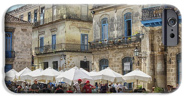 Outdoor Restaurant In Cuba IPhone Case by Patricia Hofmeester