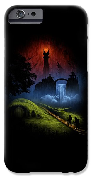 Over The Hill IPhone 6s Case by Alyn Spiller