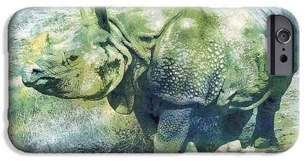 Pachyderm IPhone Case by Jutta Maria Pusl