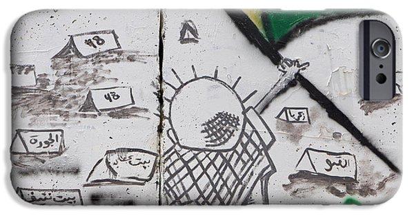 Palestinian Villages IPhone Case by Munir Alawi