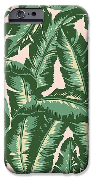 Palm Print IPhone 6s Case by Lauren Amelia Hughes