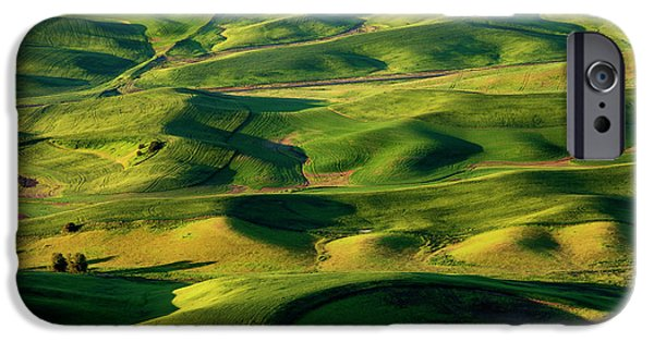 Palouse Contours IPhone Case by Mike  Dawson