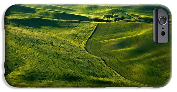 Palouse Patterns IPhone Case by Mike  Dawson