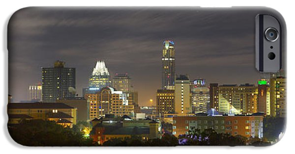Panorama Of The Austin Skyline On A September Morning IPhone 6s Case by Rob Greebon