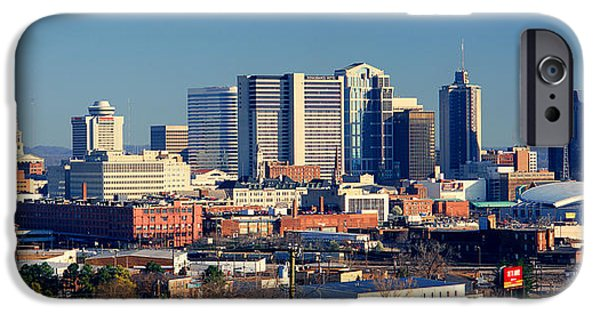 Panoramic View Of Nashville, Tennessee IPhone Case by Panoramic Images