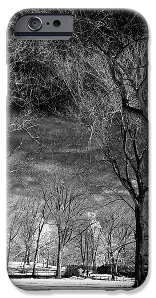 Past The Trees In Central Park IPhone 6s Case by John Rizzuto
