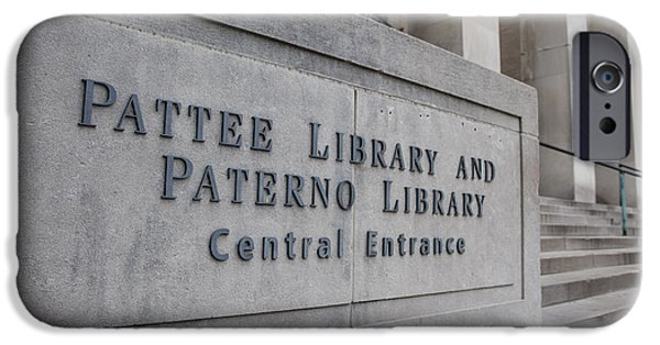 Paterno Library At Penn State  IPhone 6s Case by John McGraw