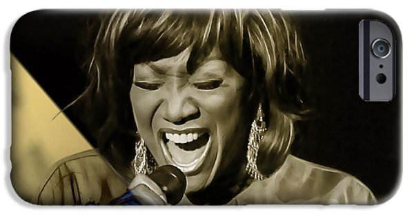 Patti Labelle Collection IPhone Case by Marvin Blaine