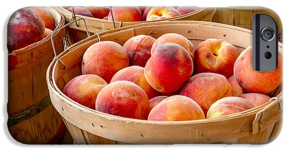 Peach Harvest IPhone Case by Teri Virbickis