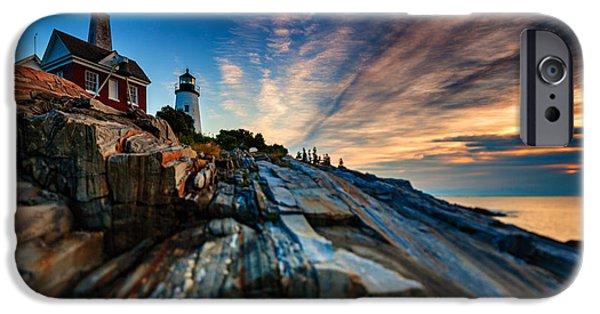 Pemaquid Sunrise IPhone Case by Rick Berk