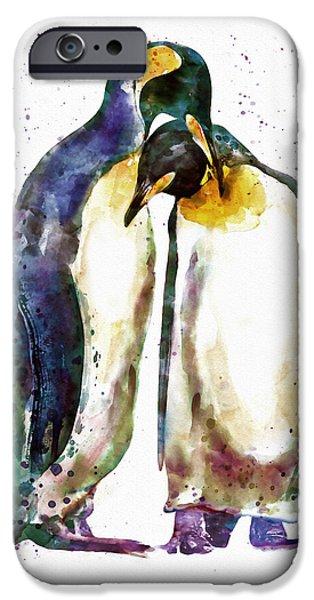Penguin Couple IPhone 6s Case by Marian Voicu